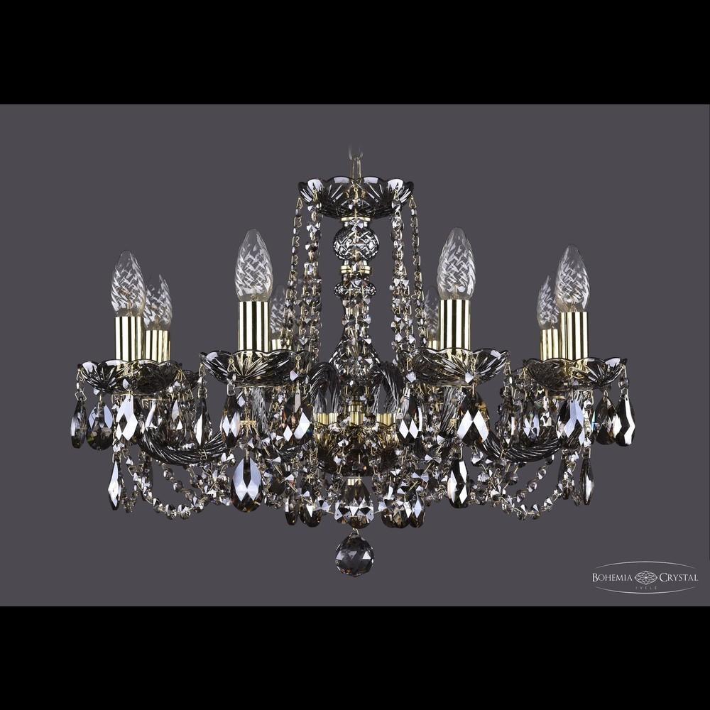 Люстры Bohemia Ivele Crystal Люстра хрустальная 1402/8/195 G M731
