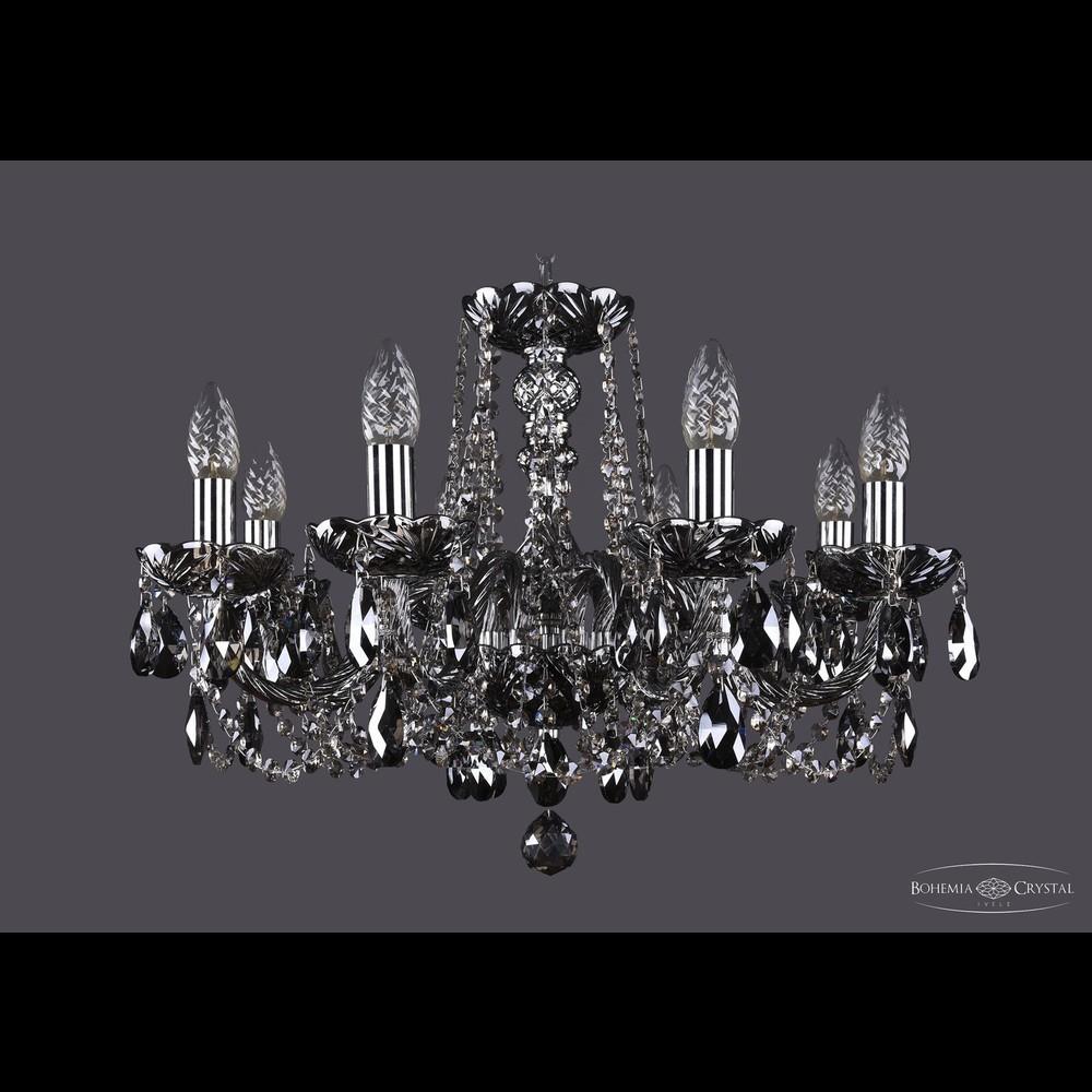 Люстры Bohemia Ivele Crystal Люстра хрустальная 1402/8/195 Ni M781