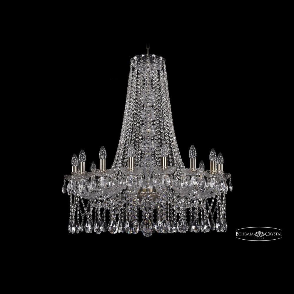 Люстры Большие Bohemia Ivele Crystal Люстра хрустальная 1413/16/300/h-93 Pa