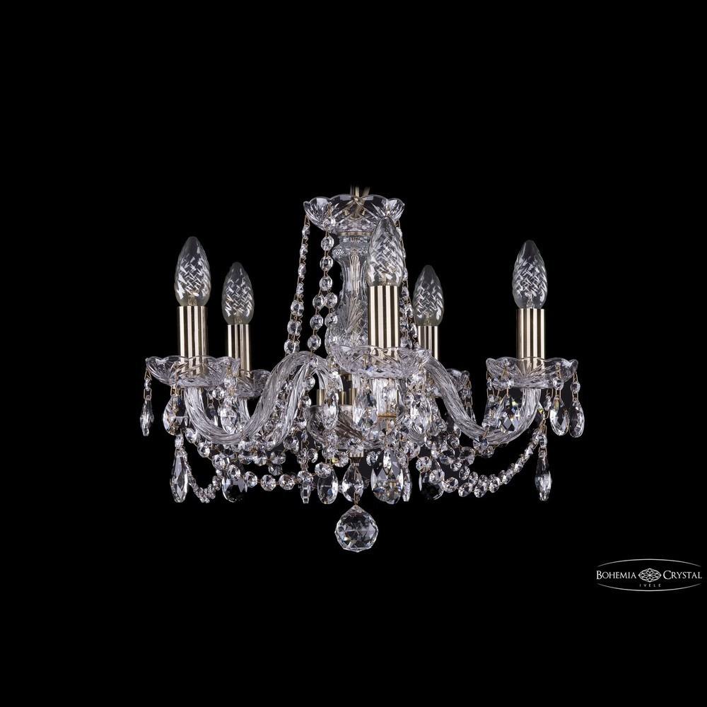 Люстры Bohemia Ivele Crystal Люстра хрустальная 1402/5/141 Pa