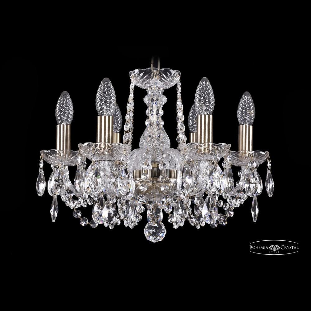 Bohemia Ivele Crystal Лампа настольная 7001.5.125-51.a.gw золото
