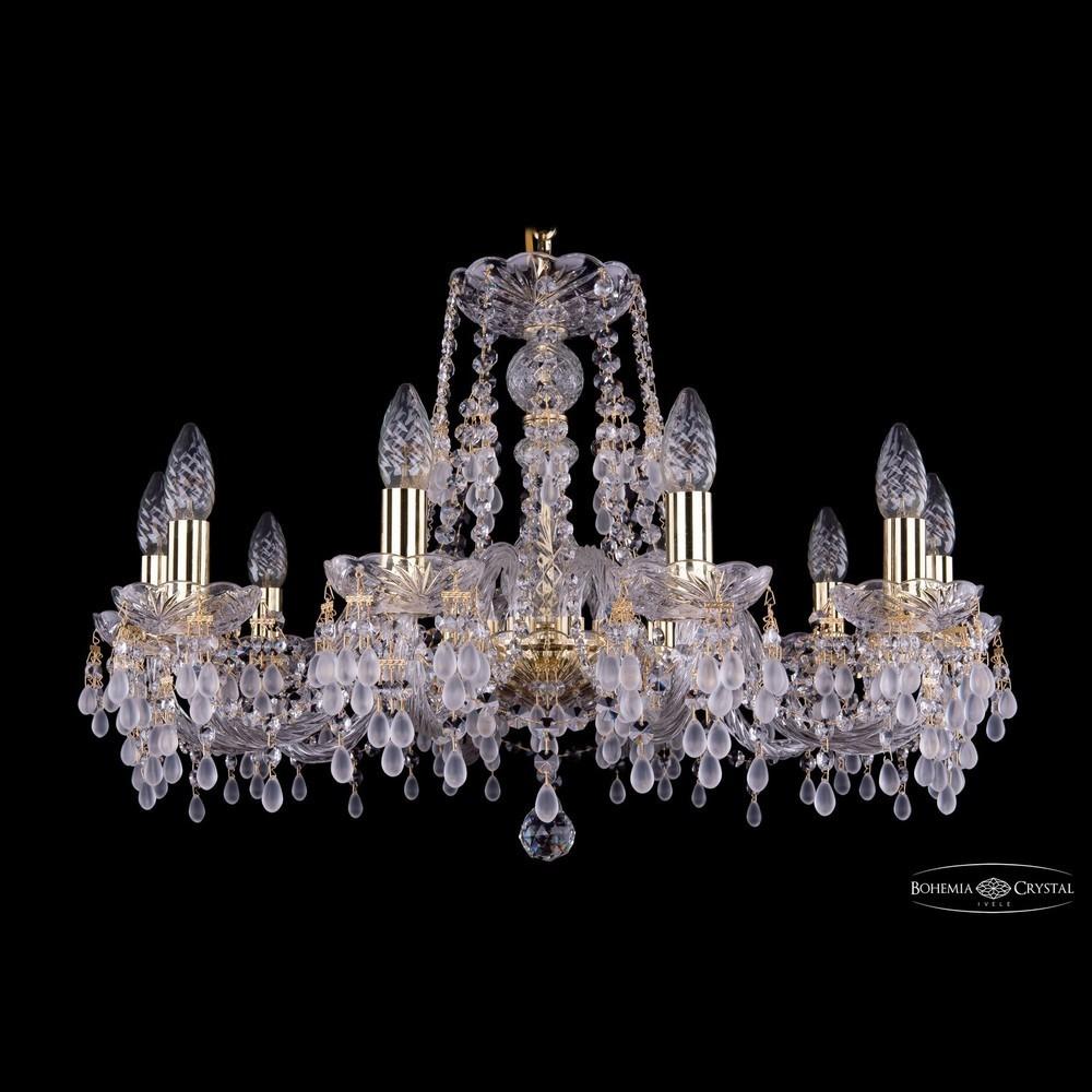 Люстры Bohemia Ivele Crystal Люстра хрустальная 1410/10/240 G V0300