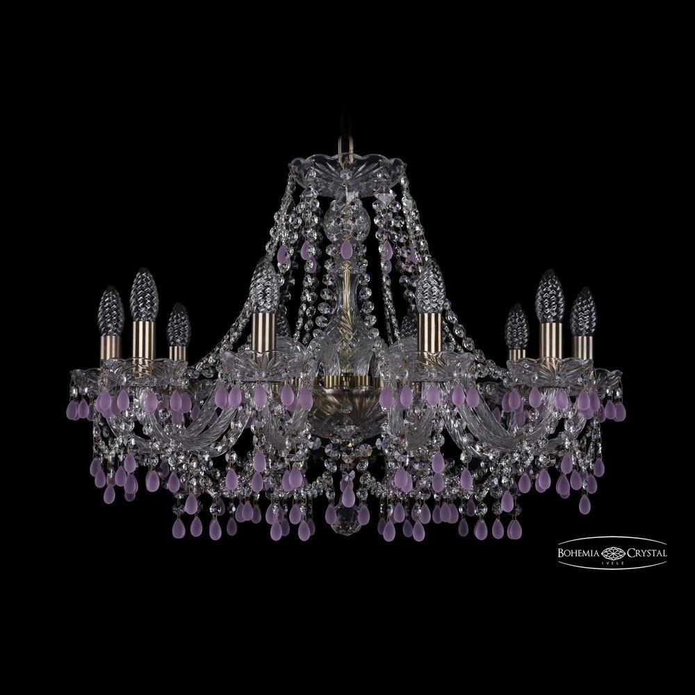 Люстры Bohemia Ivele Crystal Люстра хрустальная 1410/10/240 Pa V7010