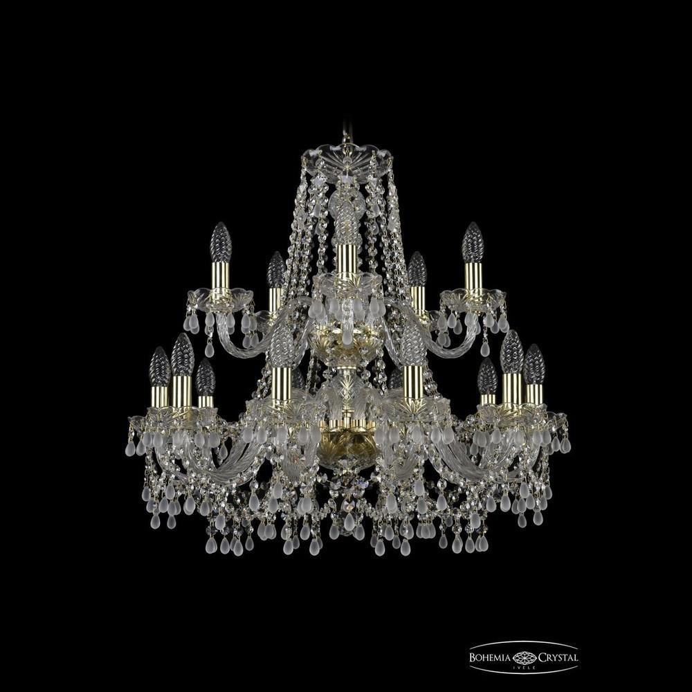 Люстры Bohemia Ivele Crystal Люстра хрустальная 1410/10+5/240/2d G V0300