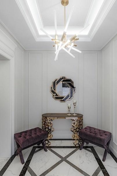 Bohemia Empir Style Зеркало декоративное черно-золотое