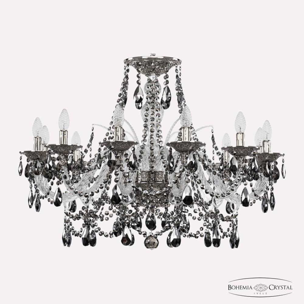 Bohemia Ivele Crystal Люстра хрустальная 16111/12/300 Ni R781
