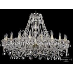 Люстры Большие Bohemia Ivele Crystal Люстра хрустальная 1411/20/400 G
