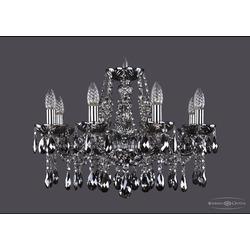 Люстры Bohemia Ivele Crystal Люстра хрустальная 1413/8/200 Ni M781