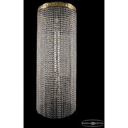 Люстры Большие Bohemia Ivele Crystal Люстра столб 2142/40-100 G