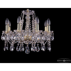 Люстры Bohemia Ivele Crystal Люстра хрустальная 1413/8/165 G