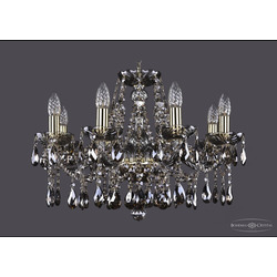Люстры Bohemia Ivele Crystal Люстра хрустальная 1413/8/200 G M731