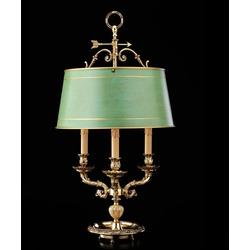 Испания Настольная лампа с абажуром