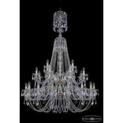 Люстры Большие Bohemia Ivele Crystal Люстра хрустальная 1406/16+8+4/400/XL-162/2d G