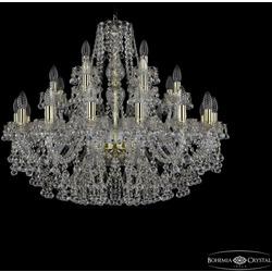 Люстры Bohemia Ivele Crystal Люстра 1409/16+8+4/300 G