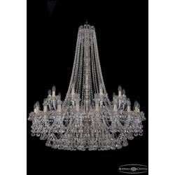 Люстры Большие Bohemia Ivele Crystal Люстра хрустальная 1409/20+10/400/h-133 G