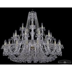 Люстры Большие Bohemia Ivele Crystal Люстра хрустальная 1409/20+10+5/460 G