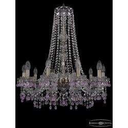 Люстры Bohemia Ivele Crystal Люстра хрустальная 1410/10/240/h-74 Pa V7010