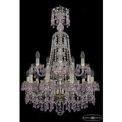 Люстры Bohemia Ivele Crystal Люстра хрустальная 1410/10+5/195/XL-84/2d G V7010