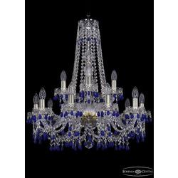 Люстры Bohemia Ivele Crystal Люстра хрустальная 1410/10+5/240/h-75 G V3001