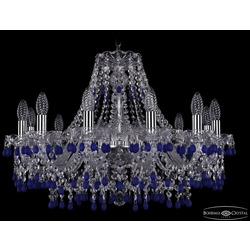 Люстры Bohemia Ivele Crystal Люстра хрустальная 1410/12/240 Ni V3001