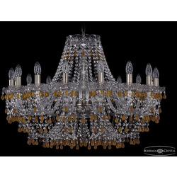 Люстры Большие Bohemia Ivele Crystal Люстра хрустальная 1410/16/300 Pa V1003