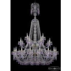 Люстры Большие Bohemia Ivele Crystal Люстра хрустальная 1410/16+8+4/400/XL-162/2d G V7010