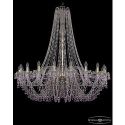 Люстры Большие Bohemia Ivele Crystal Люстра хрустальная 1410/20/460/h-133 G V7010