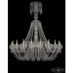 Люстры Большие Bohemia Ivele Crystal Люстра хрустальная 1410/20/460/XL-145 G V7010