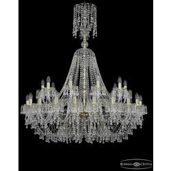Люстры Большие Bohemia Ivele Crystal Люстра хрустальная 1410/20+10/400/XL-130 G V0300