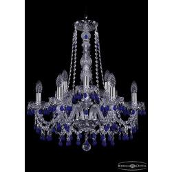 Люстры Bohemia Ivele Crystal Люстра хрустальная 1410/6+3/195/h-63 Ni V3001