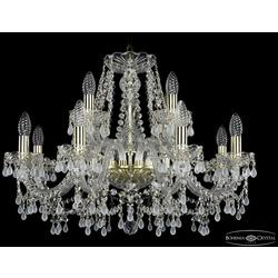 Люстры Bohemia Ivele Crystal Люстра хрустальная 1410/8+4/240 G V0300
