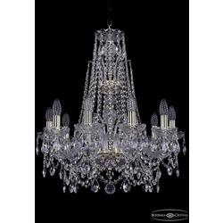 Люстры Bohemia Ivele Crystal Люстра хрустальная 1411/10/195/XL-65 G