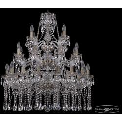 Люстры Большие Bohemia Ivele Crystal Люстра хрустальная 1413/16+8+4/300/3d Pa
