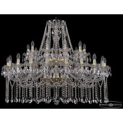Люстры Большие Bohemia Ivele Crystal Люстра хрустальная 1413/20+10/400/2d G