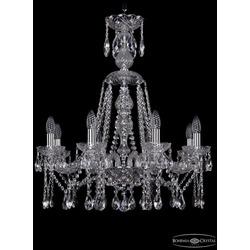 Люстры Bohemia Ivele Crystal Люстра хрустальная 1413/8/220/XL-73 Ni