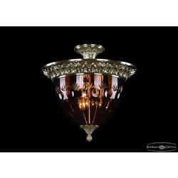 Bohemia Ivele Crystal Люстра 1781/39 G Amber/1E