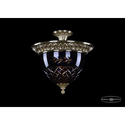Bohemia Ivele Crystal Люстра 1781/39 G Amber/Blue/1B