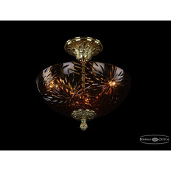 Bohemia Ivele Crystal Люстра 1782/30 G Amber/1A