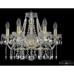 Bohemia Ivele Crystal Люстра 2413/6/165 G Clear/1A