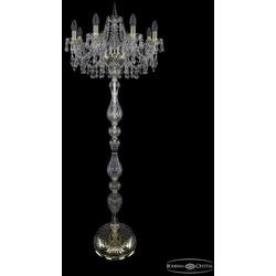 Bohemia Ivele Crystal Торшер 1403T1/8/195-160 G