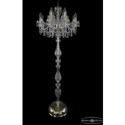 Bohemia Ivele Crystal Торшер 1403T1/8+4/195-165 G