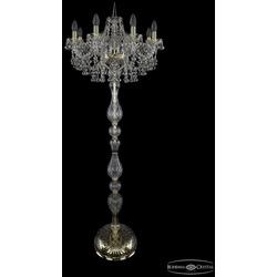 Bohemia Ivele Crystal Торшер 1409T1/8/195-160 G
