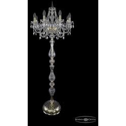 Bohemia Ivele Crystal Торшер 1411T1/8/195-165 G