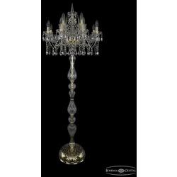 Bohemia Ivele Crystal Торшер 1413T1/8+4/200-165 G