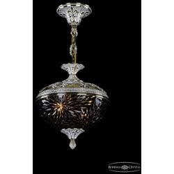 Люстры Bohemia Ivele Crystal Люстра бронзовая 1773/25 GW Amber/Blue/1A