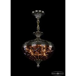 Люстры Bohemia Ivele Crystal Люстра бронзовая 1773/30 GB Amber/1D
