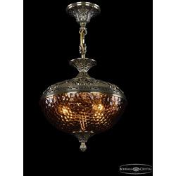 Люстры Bohemia Ivele Crystal Люстра бронзовая 1773/30 GB Amber/1C