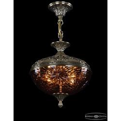 Люстры Bohemia Ivele Crystal Люстра бронзовая 1773/30 GB Amber/1A
