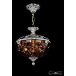 Люстры Bohemia Ivele Crystal Люстра бронзовая 1773/30 GW Amber/1D