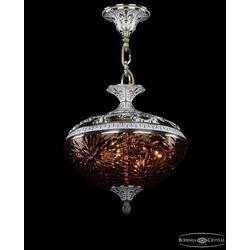 Люстры Bohemia Ivele Crystal Люстра бронзовая 1773/30 GW Amber/1A
